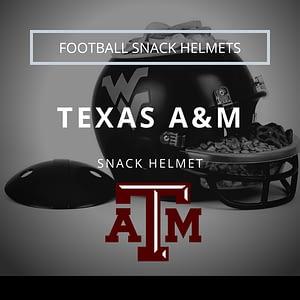 Texas A&M Football Snack Helmet Thumbnail