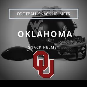 Oklahoma Football Snack Helmet Thumbnail