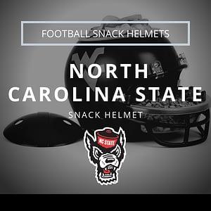 North Carolina State Football Snack Helmet Thumbnail