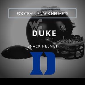 Duke Blue Devils Football Snack Helmet Thumbnail