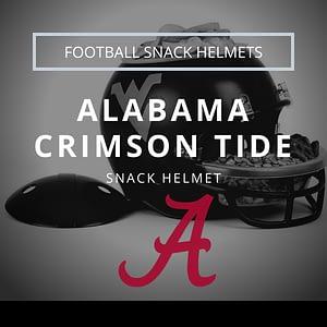 ALABAMA Football Snack Helmet Thumbnail