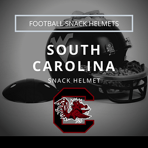South Carolina Football Snack Helmet Thumbnail