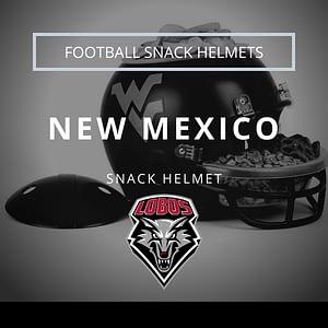 New Mexico Football Snack Helmet Thumbnail