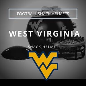 West Virginia Football Snack Helmet Thumbnail