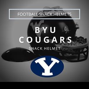 BYU Cougars Football Snack Helmet Thumbnail