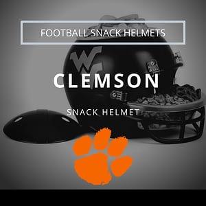 Clemson Tigers Football Snack Helmet Thumbnail