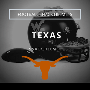 Texas Football Snack Helmet Thumbnail