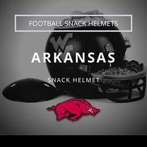 Arkansas Razorbacks Football Snack Helmet Thumbnail