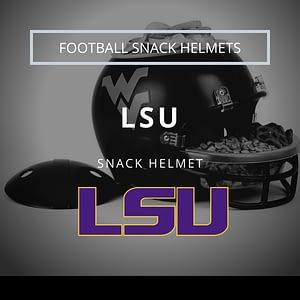 LSU Football Snack Helmet Thumbnail