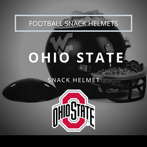 Ohio State Football Snack Helmet Thumbnail
