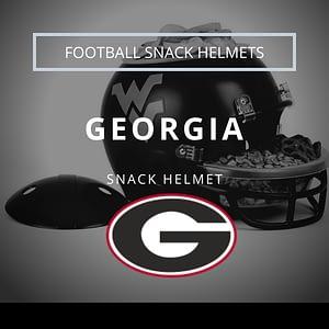 Georgia Football Snack Helmet Thumbnail